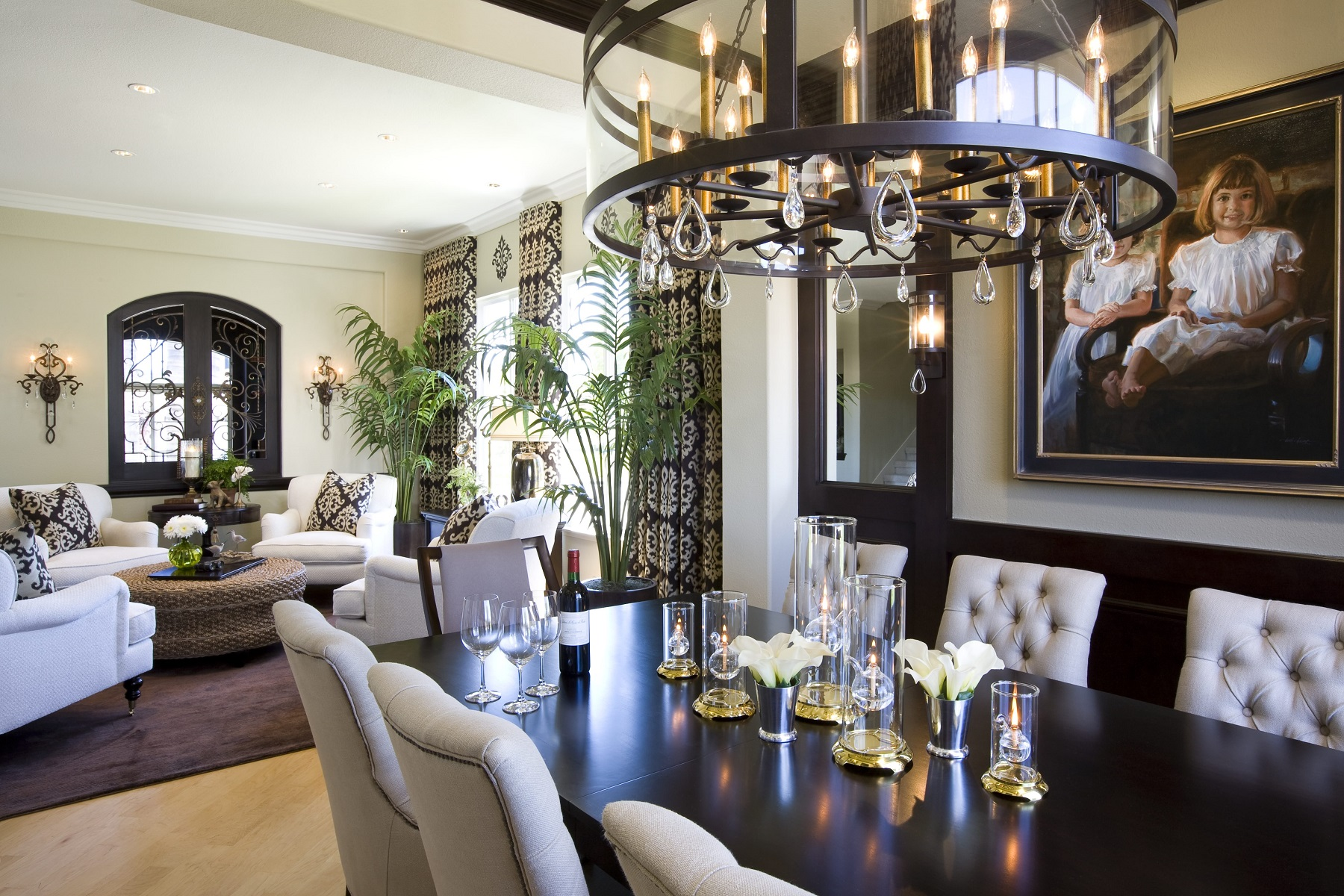 Attirant Modern Traditional Dining Room