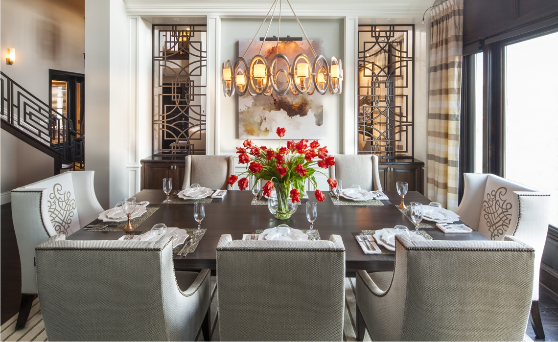 Genial Hamptons Inspired Luxury Home Dining Room Robeson Design