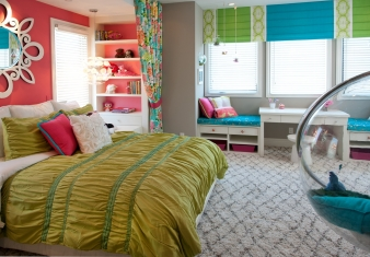 Hampton's Inspired Luxury Girls Room 4